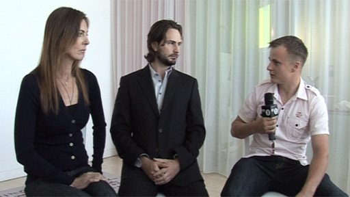 Kathryn Bigelow, Mark Boal and Lance Corporal David Biggadyke