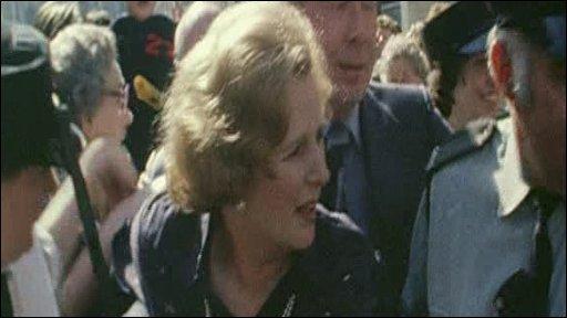 Margaret Thatcher in Belfast (1979)