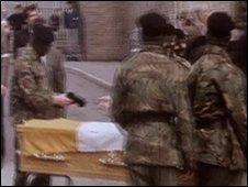 Funeral of an IRA hunger striker