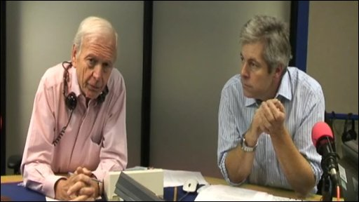 John Humphrys and Justin Webb