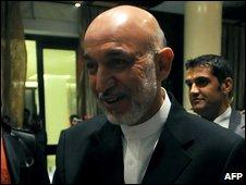 President Karzai on 22 August