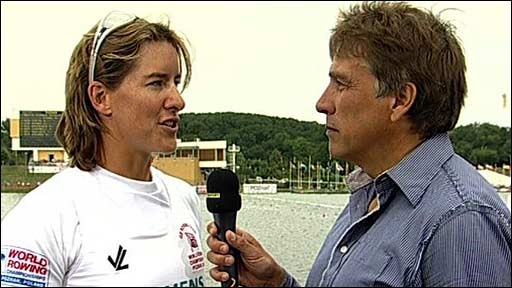 Katherine Grainger and John Inverdale