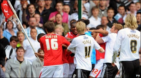 Nottingham Forest and Derby