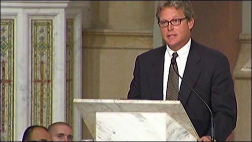 Senator Kennedy's son, Ted Kennedy Jnr