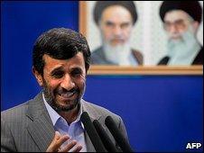 Mahmoud Ahmadinejad 28.8.09