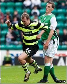 Aiden McGeady and Paul Hanlon