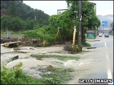Flooding in Japan 10.8.09