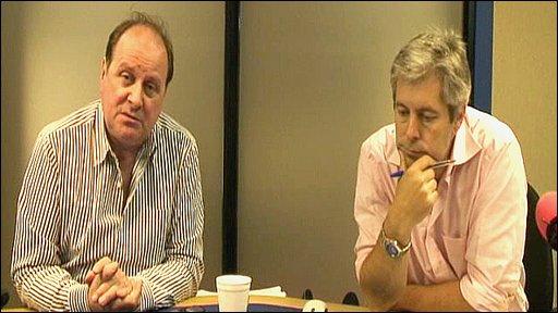 Jim Naughtie and Justin Webb