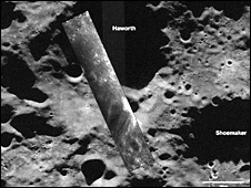 Moon surface picture by Chandrayaan-1