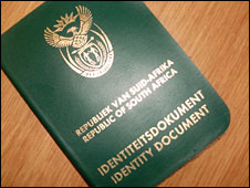 South African ID document