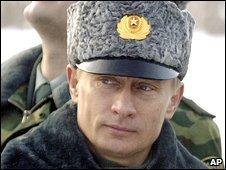 Vladimir Putin, 2004 file picture