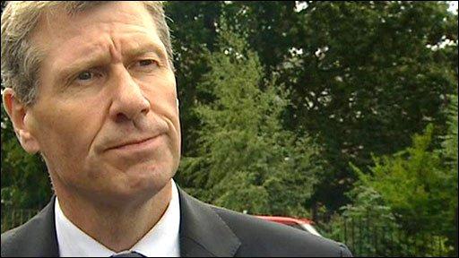Scotland's Justice Secretary Kenny MacAskill