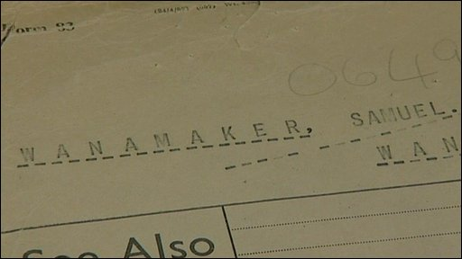 MI5 files on Sam Wanamaker