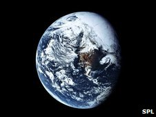 Planet Earth from space (SPL)