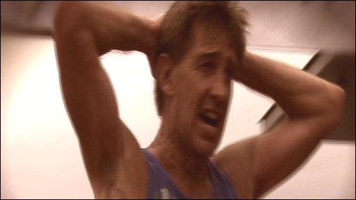 Runner in Guernsey marathon