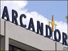 Arcandor sign