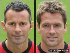 Ryan Giggs and Michael Owen