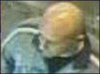 Man on CCTV