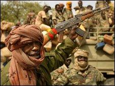 Chadian troops, file image