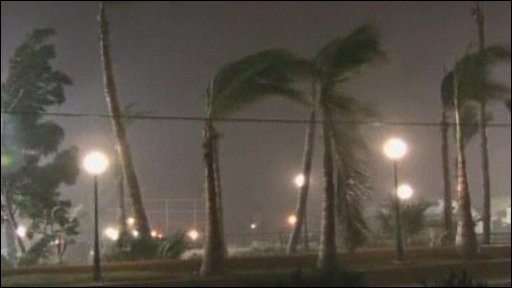 Hurricane Jimena hits Mexico