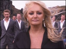 Bonnie Tyler and Only Men Aloud!