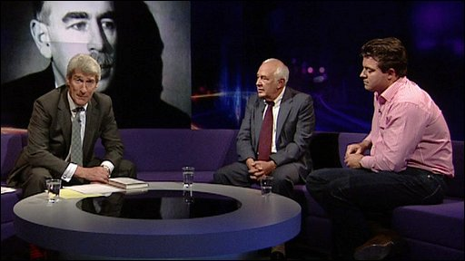 Jeremy Paxman, Robert Skidelsky and Liam Halligan