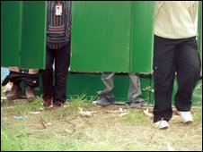 Festival toilets generic