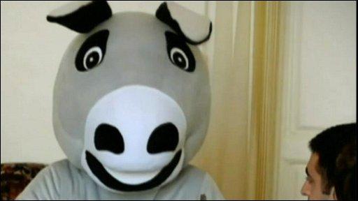 Azerbaijan donkey spoof