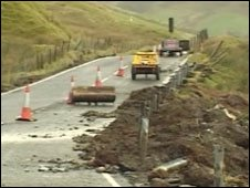 ... | UK | Wales | North West Wales | A470 upgrade call after landslide