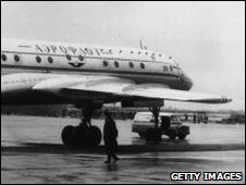 Aeroflot Tupolev pictured in 1950s
