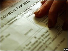 Council tax bill - generic