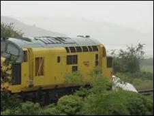 The train at Penrhyndeudraeth