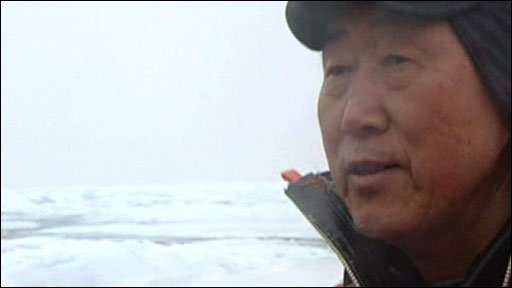 UN Secretary General Ban Ki-Moon in the Arctic Circle