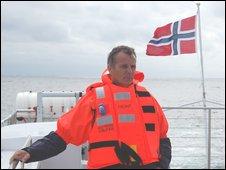 Sjur Bratland, asset manager, Hywind (Photo: Jorn Madslien)