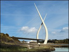 Planned Sunderland bridge