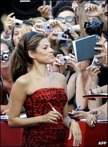 Eva Mendes at the Venice Film Festival