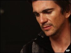 Juanes in a photo from 28 August 2009