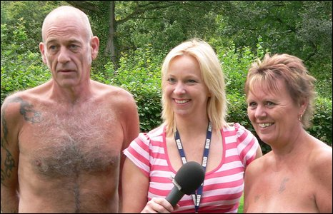 Faye Hatcher meets naturists Graham and Sandra at The Pines
