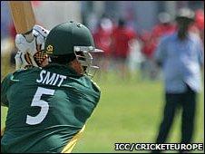 GH Smit batting