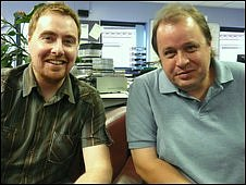 Phil Cunliffe and Steve Rothery