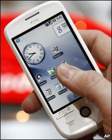 HTC Magic handset (AP)