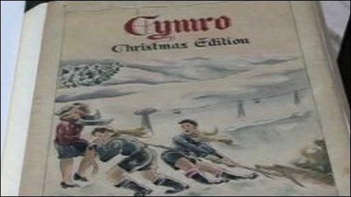 Cymro magazine cover