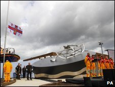 RNLI memorial ceremony