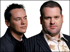 Comedy Dave and Chris Moyles