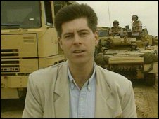 Justin Webb reporting from the Iraq war