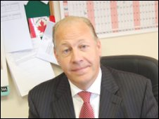 Paul Douglas, chief operating officer for Rotherham United FC