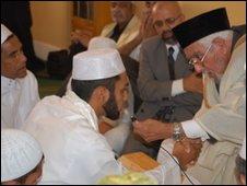 A Muslim marriage ceremony