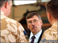 Defence Secretary Bob Ainsworth