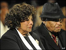 Katherine and Joe Jackson