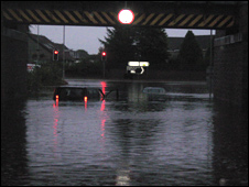 Flooding in Dyce/Pic: Mark Allan